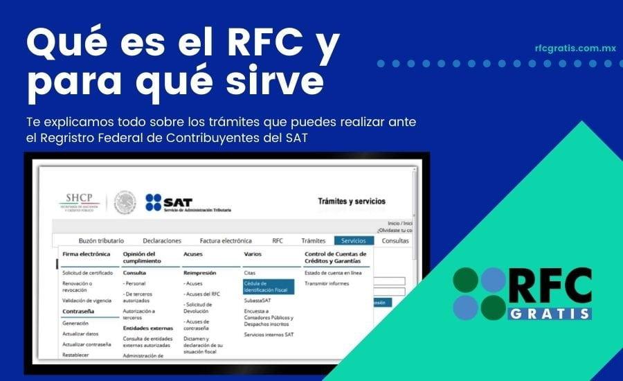 Registro Federal de Contribuyentes RFC